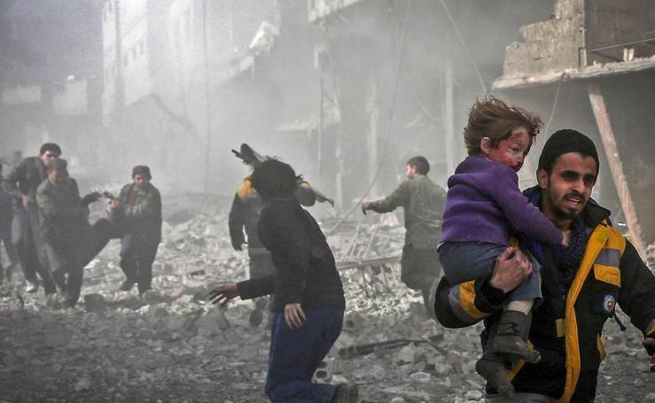 Más de 200 civiles muertos en Siria