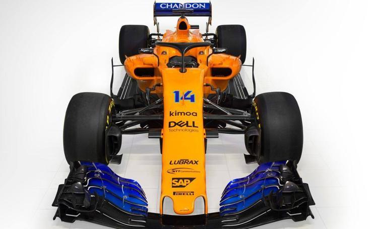 El MCL33, el monoplaza de Fernando Alonso en el Mundial de Fórmula Uno