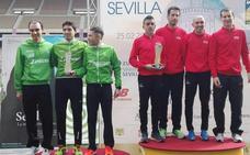 El club La Blanca logra el subcampeonato de España de maratón por equipos
