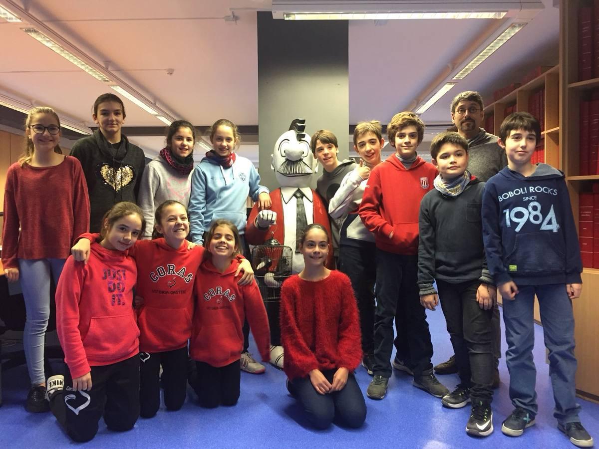 Visita centro escolar Corazonistas (Vitoria-Gasteiz) - 20, 21 y 23 de febrero de 2018