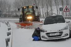 «Ojo con las carreteras, son hielo puro»