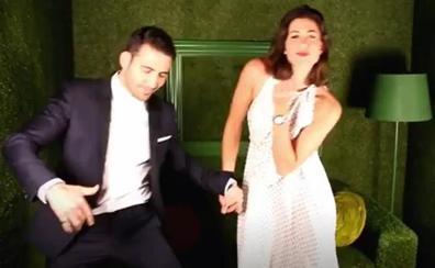 Miguel Ángel Silvestre y Garbiñe Muguruza bailan al mejor estilo Hollywood