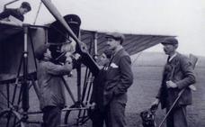 El vitoriano Ramón Ciria fue el primer aviador español muerto en combate