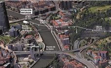 Bilbao dibuja un teleférico para unir Abandoibarra y el monte Artxanda