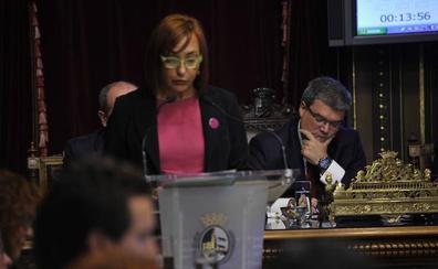 Udalberri critica que el Ayuntamiento presente la entrada del TAV a Bilbao el 8-M