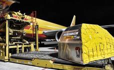 La carga subió en Foronda un 11% en febrero