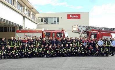66 nuevos bomberos conductores se incorporan al servicio en Bizkaia