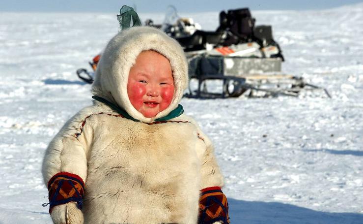 Nenets, los votantes nómadas del ártico