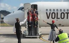 Volotea inaugura su base en Bilbao y oferta 8 destinos