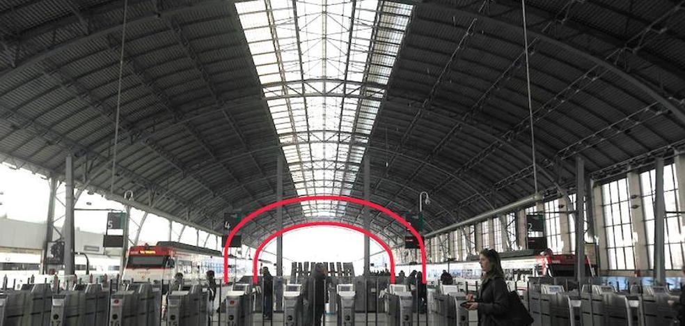 Denuncian que el proyecto de la nueva estación de Abando «mutila» el 20% de su cubierta