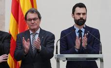 Los independentistas usan el pleno para denunciar «un momento de involución democrática»