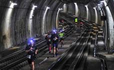La carrera 'Under Run Metro Bilbao', desde dentro