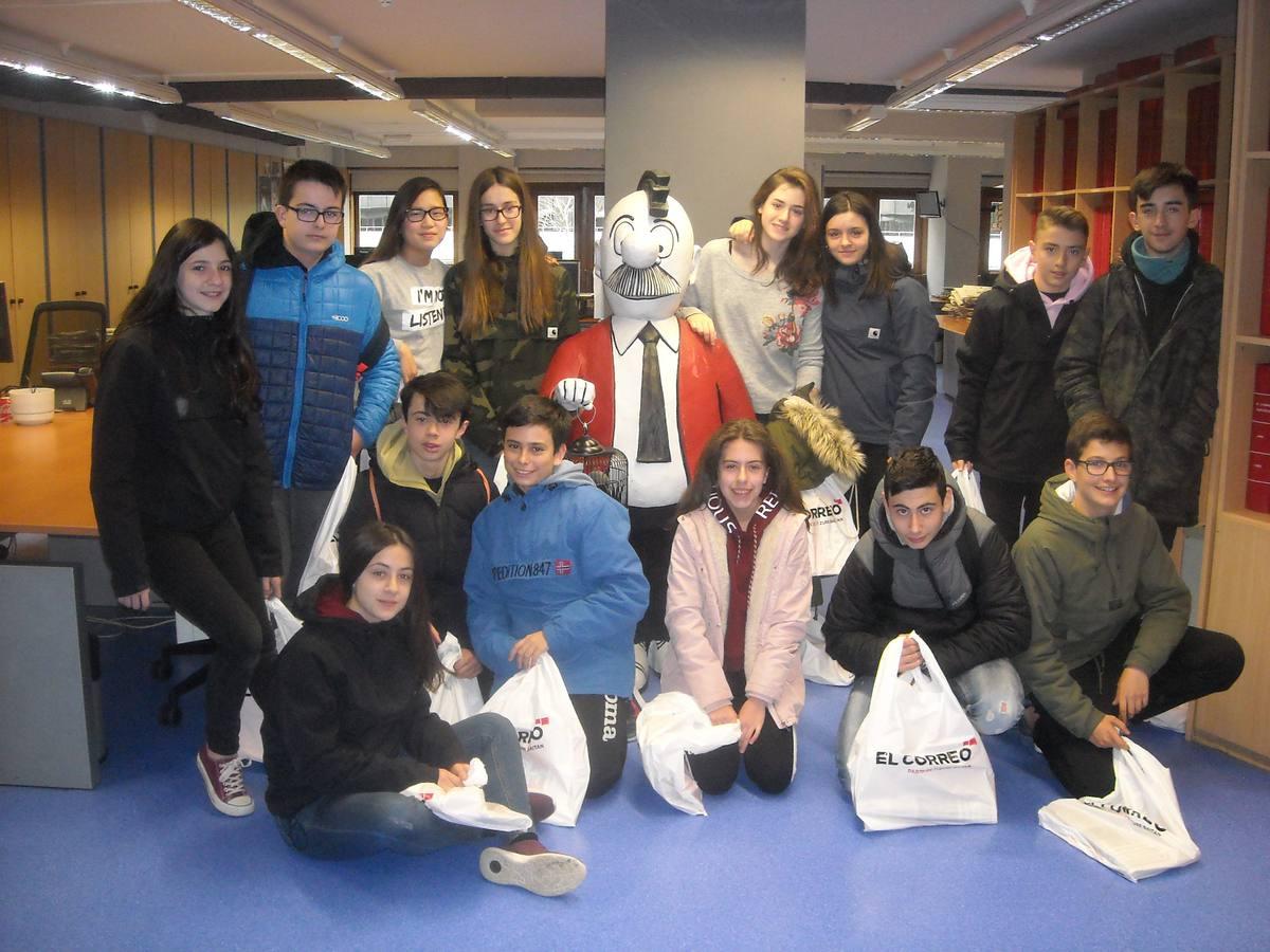 Visita centro escolar San Prudencio (Vitoria-Gasteiz) - 15, 16 y 20 de marzo de 2018