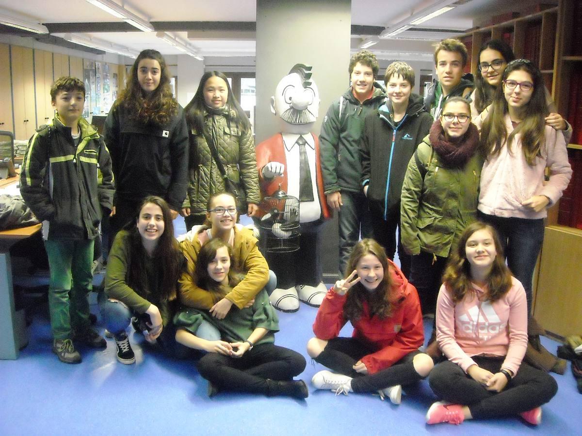 Visita centro escolar San Viator (Vitoria-Gasteiz) - 12 y 14 de marzo de 2018