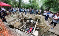 Descubren en Barrika un utensilio de madera de hace 90.000 años