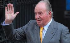 El rey Juan Carlos, en Arabia Saudí