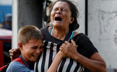 68 muertos en el incendio en una comisaría de Venezuela tras un motín