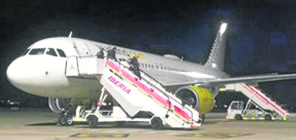 Solo 5 vuelos desviados a Foronda en un año