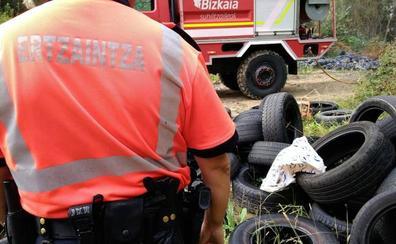 Vecinos de Erandio alertan de la proliferación de vertederos ilegales en el municipio