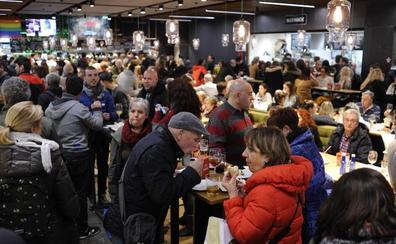La hostelería hace el agosto durante la Semana Santa de Bilbao
