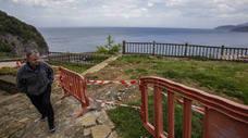 La reforma del mirador de la Atalaya centra las inversiones de Elantxobe para este año