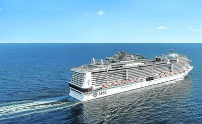El gigante de los cruceros por el Mediterráneo