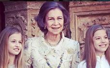 Doña Sofía, la reina de la 'jet set' y de las redes sociales
