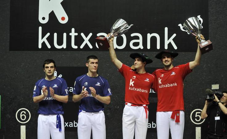 Ezkurdia y Zabaleta, campeones sin oposión