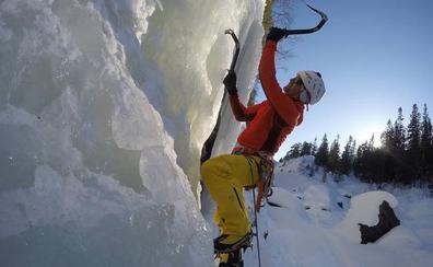 Los hermanos Pou conquistan el hielo noruego de Rjukan