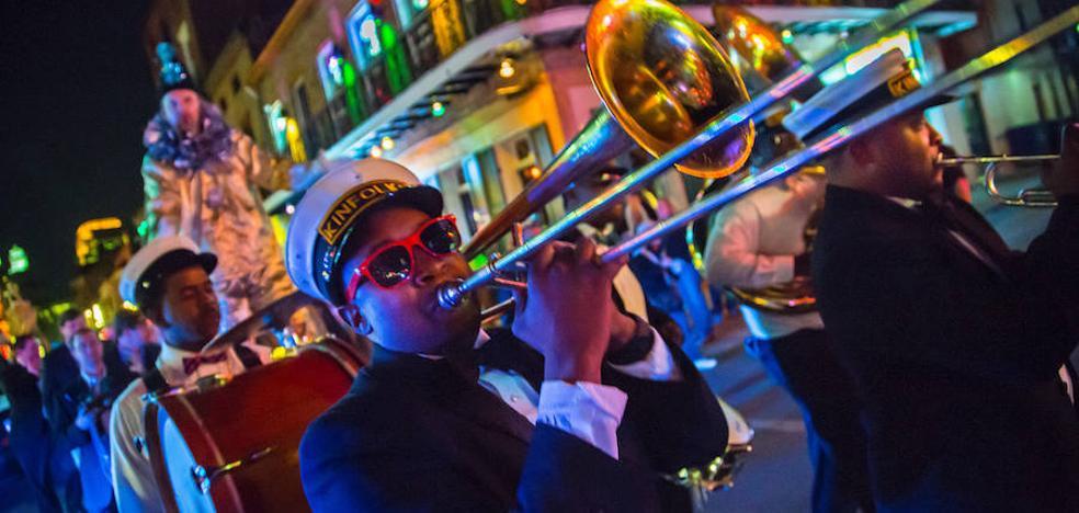 Nueva Orleans vuelve a bailar