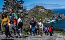 40.945 personas visitaron Gaztelugatxe en Semana Santa