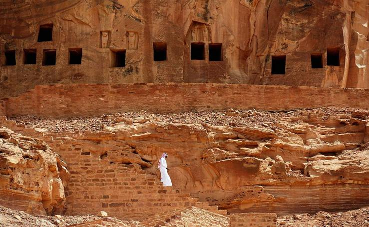 La Petra de Arabia Saudí