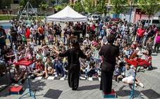 El festival MAZ Basauri fomenta entre los niños la pasión por el rock