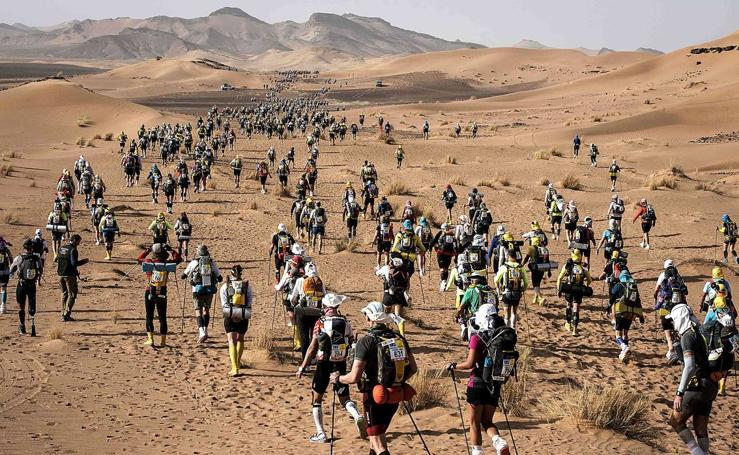 Correr delante del camello
