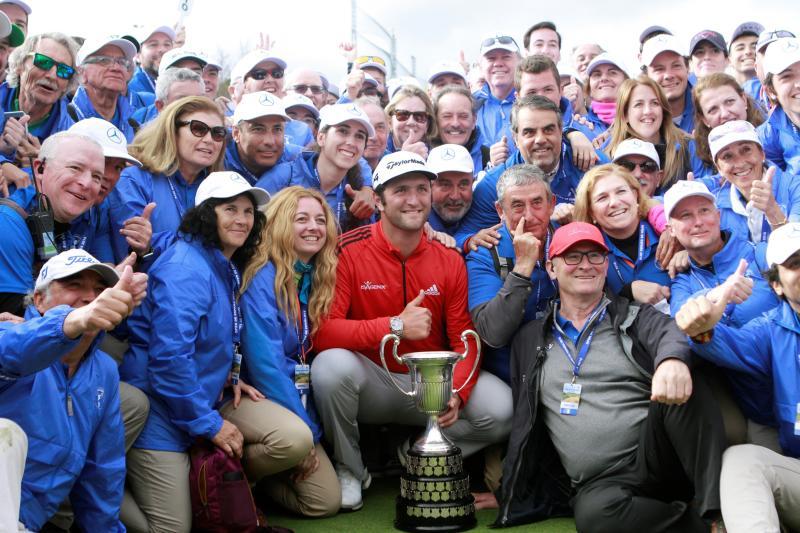 Las imágenes de la victoria de Jon Rahm en el Open de España
