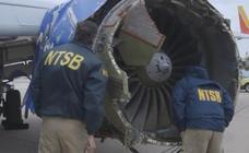 Una mujer fallece en Estados Unidos en un avión tras explotar un motor y ser succionada por la ventana