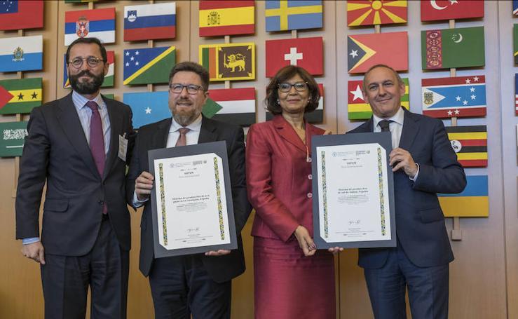 El Valle Salado de Añana ya tiene su diploma de la ONU