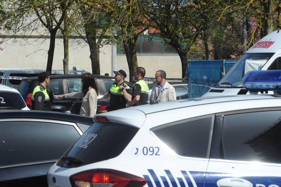 Un hombre mata a dos mujeres en Vitoria y se lanza al vacío