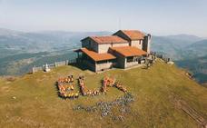 12 horas solidarias en el monte Kolitza para luchar contra la ELA