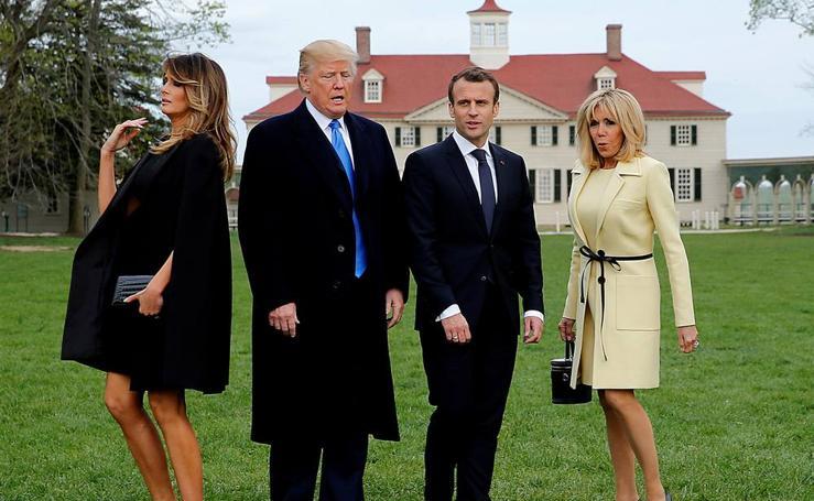 Macron visita la Casa Blanca