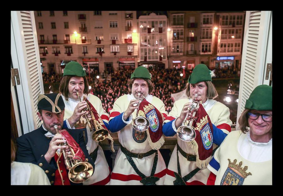 La retreta anuncia las fiestas de San Prudencio