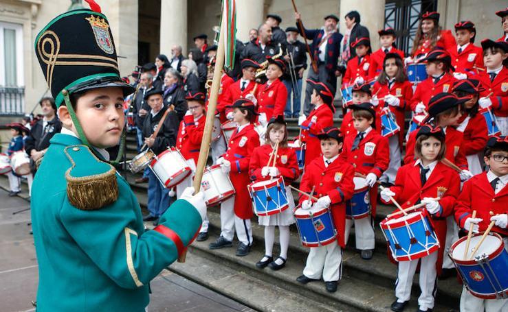 Así ha sido la Tamborrada Txiki de San Prudencio en Vitoria