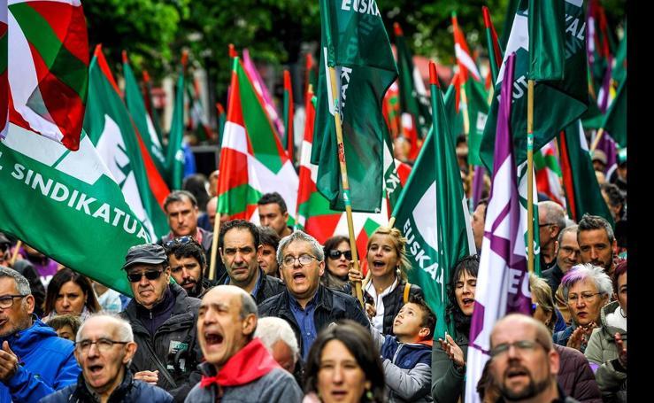 Las mujeres y los pensionistas marcan las reivindicaciones del Primero de Mayo