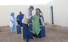 Desayunos para los niños discapacitados saharauis enviados desde Getxo