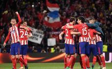 El Atlético vence y se enfrentará al Olympique de Marsella en la final de Lyon