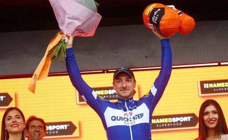 Las mejores imágenes e la etapa en Israel del Giro de Italia