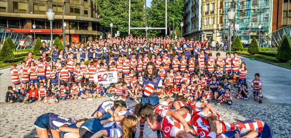 El rugby se apodera de Bilbao