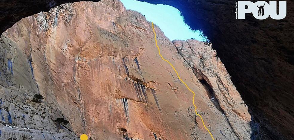 Los hermanos Pou abren una nueva vía en escalada libre en el Atlas marroquí