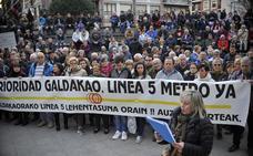 La plataforma a favor de la Línea 5 de Metro inicia mañana sus movilizaciones