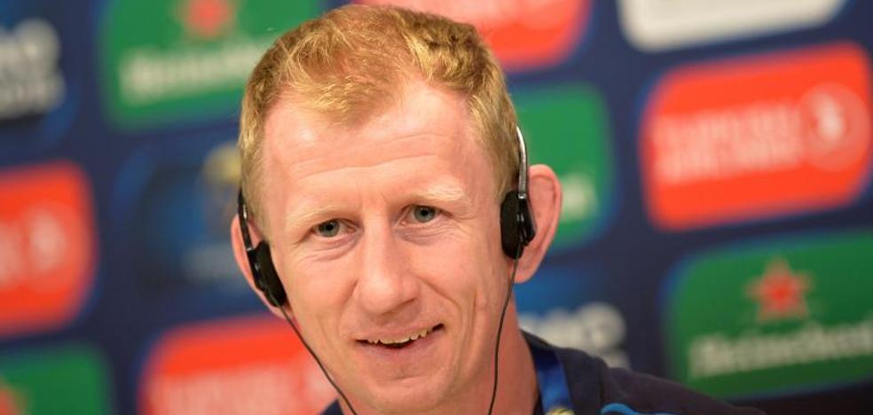 «Competimos con jugadores de la cantera y San Mamés es excepcional para hacerlo», dice el entrenador del Leinster